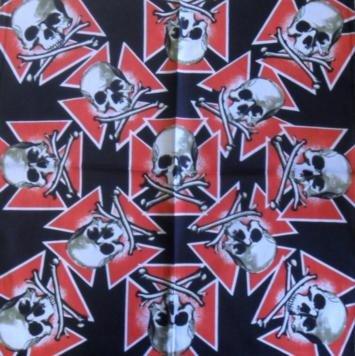 Skull Pattern Design 12 Bandana Head Scarf