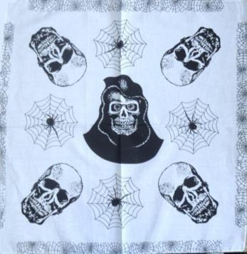 Skull Pattern Design 2 Bandana Head Scarf