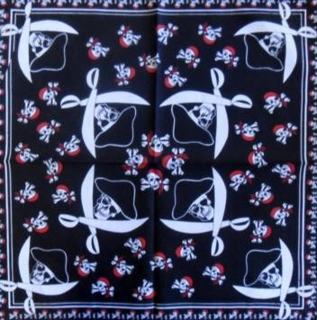Skull Pattern Design 6 Bandana Head Scarf
