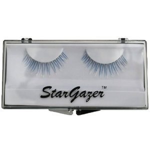 Stargazer Reusable False Eyelashes UV Reactive Blue #37