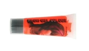 Stargazer Orange UV Reactive Neon Hair Gel