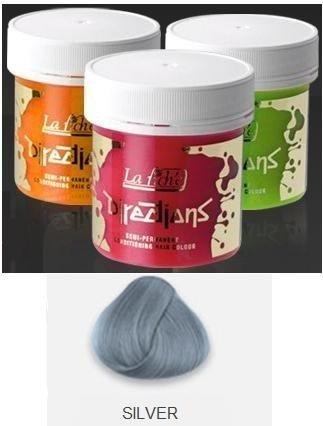 Silver Directions Semi Perm Hair Dye By La Riche