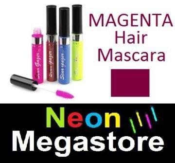 New Stargazer Colour Streak Hair Mascara - UV Neon Magenta