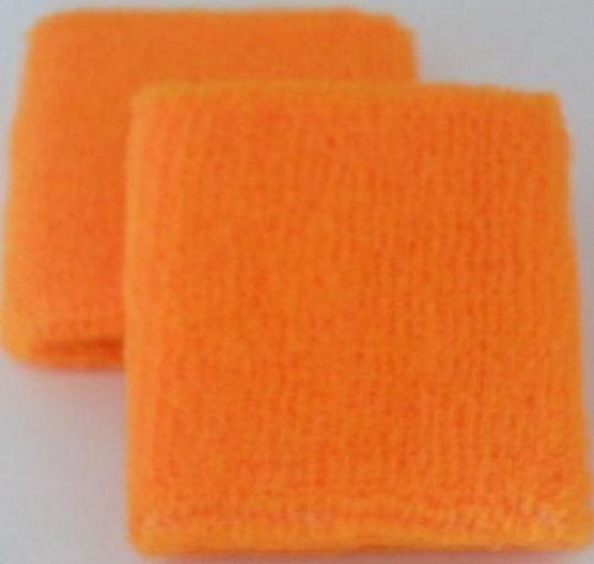 Neon Orange Sweatband / Armband For Rave Party Festival