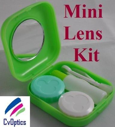 Green Mini Contact Lenses Storage Lens Travel Kit
