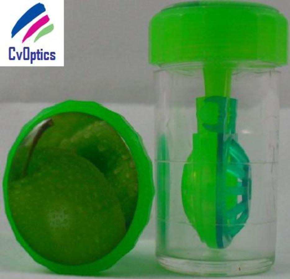 Apple Fruit Contact Lens Storage Soaking Barrel Case