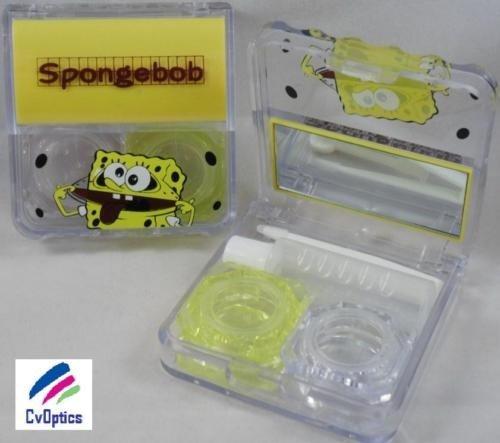 Spongebob Square Pants Contact Lens Travel Kit / Case s