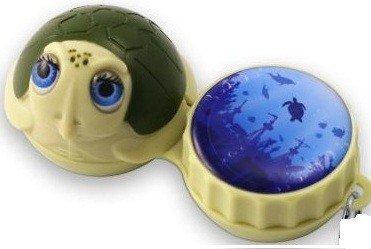 Turtle 3D Contact Lenses Storage Soaking Case
