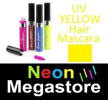 New Stargazer Colour Streak Hair Mascara - UV Neon Yellow