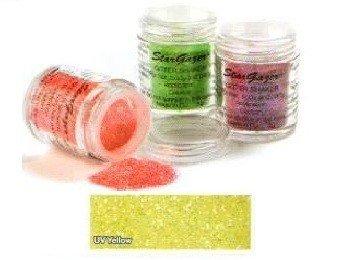 Stargazer UV Reactive Neon Yellow Glitter Shaker