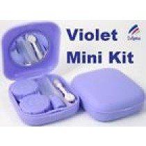 Violet Mini Contact Lenses Storage Lens Travel Kit