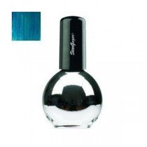 Stargazer Chrome Metallic Petrol Blue Nail Varnish 14ml 236