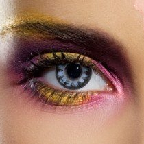 1 Day Use Diamond Blue Coloured Contact Lenses