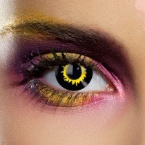 1 Day Use Wolf Crazy Coloured Contact Lenses