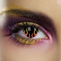 Edit's UL13 Range Hells Flame Contact Lenses