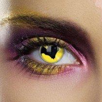 Edit's Dracula Range Bat Contact Lenses