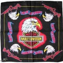 Harley Davidson Design Bandana Head Scarf