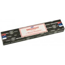 Midnight 15 Gram Pack Of Satya Nag Champa Incense Sticks