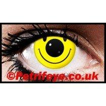 Acid Face Crazy Contact Lenses