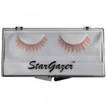 Stargazer Reusable False Eyelashes UV Reactive Red #36