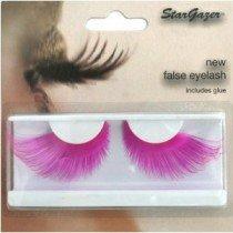 Stargazer Reusable False Eyelashes Bright Neon Pink 68