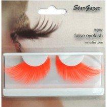 Stargazer Reusable False Eyelashes Bright Neon Orange 69