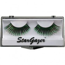 Stargazer Reusable False Eyelashes Black & Green Foil 6