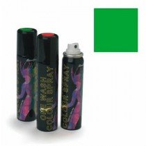 Stargazer Green (UV Reactive) One Wash Colour Hair Spray 75m