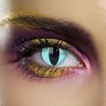Edit's Colour Vision Range Aqua Cat Contact Lenses