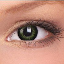 ColourVue Party Green Big Eyes Contact Lenses