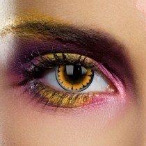 Edit's Big Eye Range Honey Contact Lenses