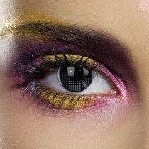 Edit's Colour Vision Range Black Mesh Contact Lenses