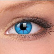 ColourVue Blue Star Crazy Contact Lenses