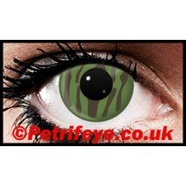 Camouflage Green Contact Lenses