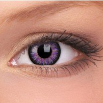 ColourVue Violet Glamour Coloured Contact Lenses