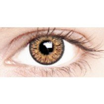 Golden Brown Coloured Contact Lenses 30 Day