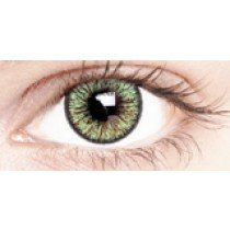Illusion Green Coloured Contact Lenses 30 Day
