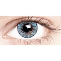 Silky Blue Coloured Contact Lenses 30 Day