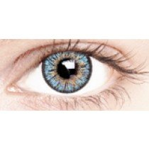 Cool Blue Coloured Contact Lenses 30 Day