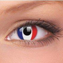 ColourVue French Flag Crazy Contact Lenses