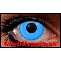 Blue Neon UV Reactive Coloured Contact Lenses