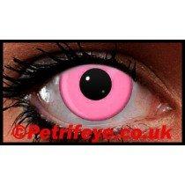 Pink Neon UV Reactive Coloured Contact Lenses