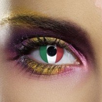 Edit's Flag Range Italy Contact Lenses