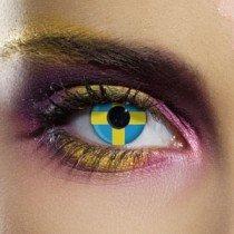 Edit's Flag Range Sweden Contact Lenses