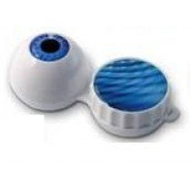 Funky EyeBall 3D Contact Lenses Storage Soaking Case