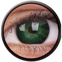 ColourVue Green Eyelush Coloured Contact Lenses