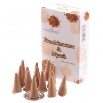 Frankincense and Myrrh Stamford Incense Cones