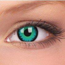 ColourVue Green Werewolf Crazy Contact Lenses