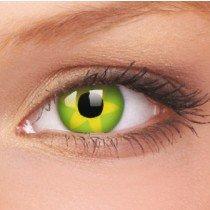 ColourVue Green Flower Crazy Contact Lenses