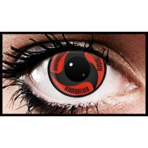 (90 Day Wear) Itachi Mangekyo Naruto Coloured Contact Lenses